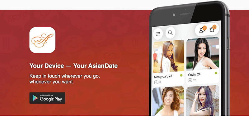 asiandate mobile app